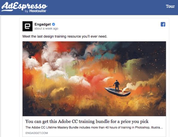 AdEspresso Engadget