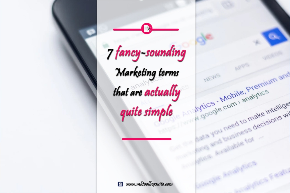 7 marketing terms that are simple