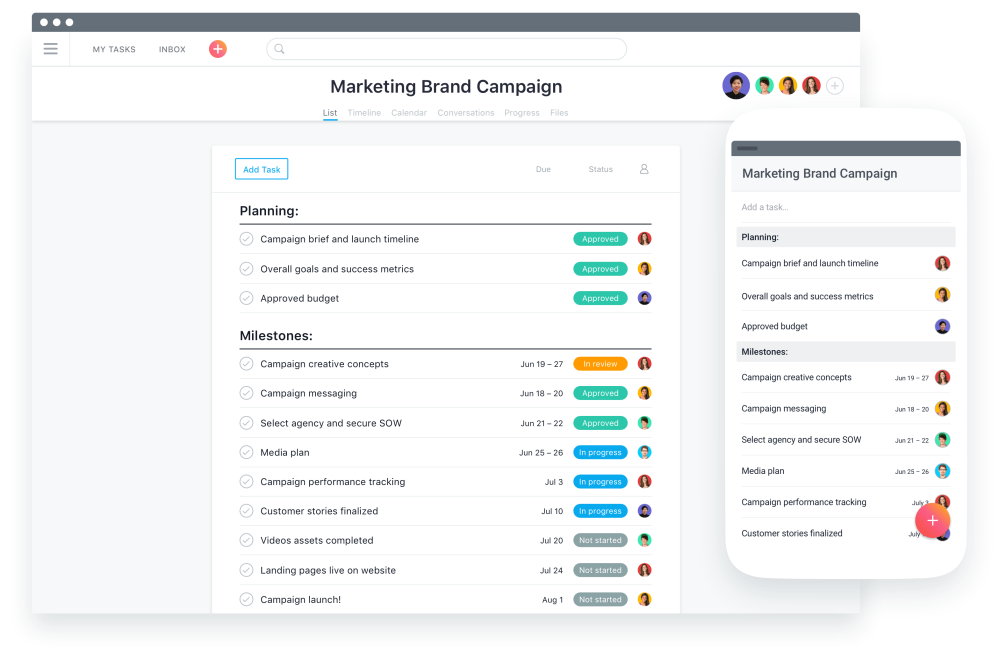 asana solving startup marketing challenges